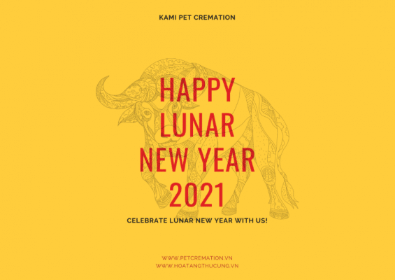 kami pet cremation - happy lunar new year 2021 notice
